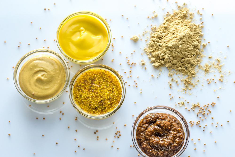 is mustard good for heartburn